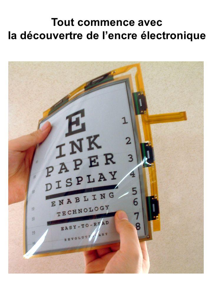 Tout commence avec la découvertre de lencre électronique