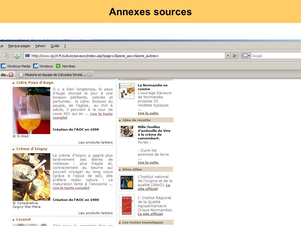 115 Annexes sources