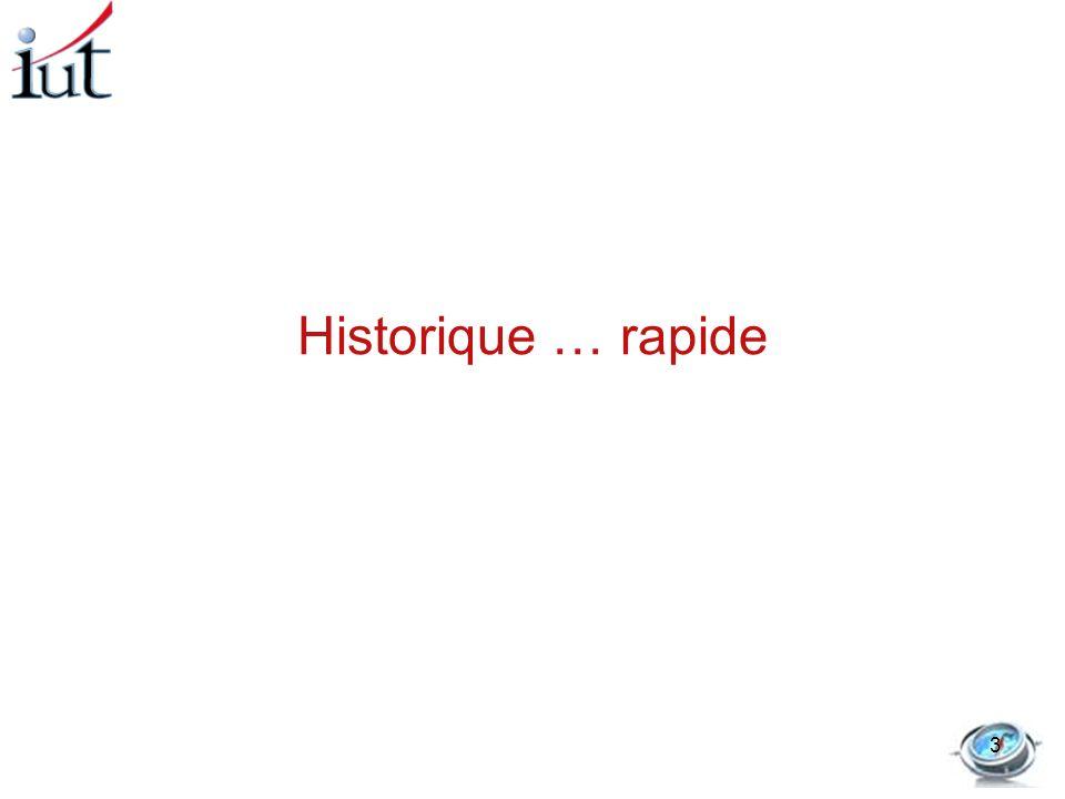 Historique … rapide 3
