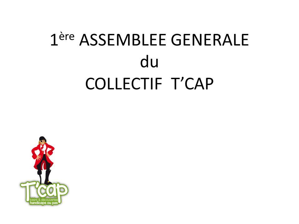 1 ère ASSEMBLEE GENERALE du COLLECTIF TCAP