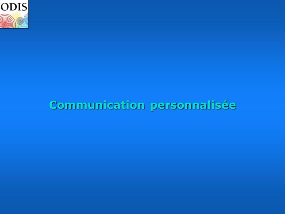 Communication personnalisée