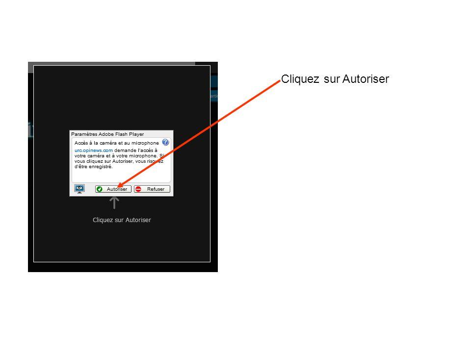 Cliquez sur Autoriser