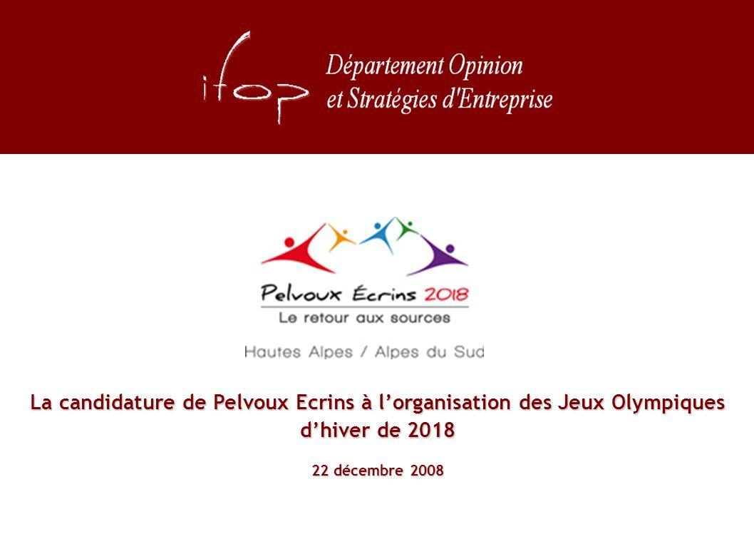 La candidature de Pelvoux Ecrins à lorganisation des Jeux Olympiques dhiver de 2018 22 décembre 2008