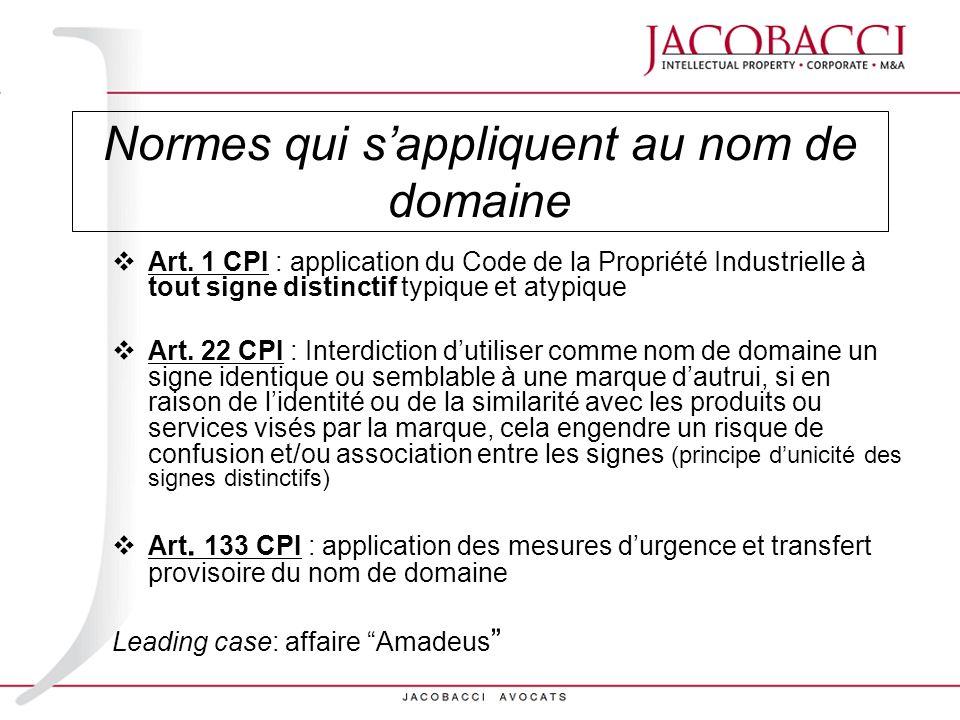 Jurisprudence (1) Trib.