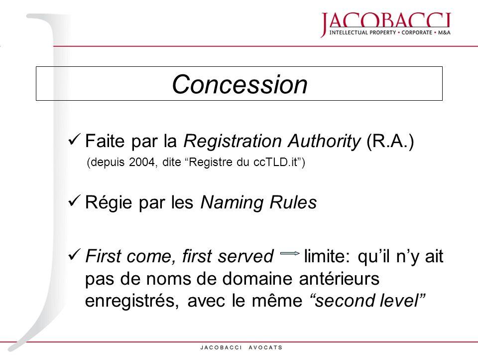 Arbitrage (art.15 Naming Rules) ou Procédure de réassignation art.