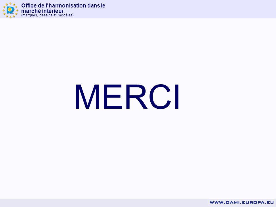 Office de l'harmonisation dans le marché intérieur (marques, dessins et modèles) MERCI