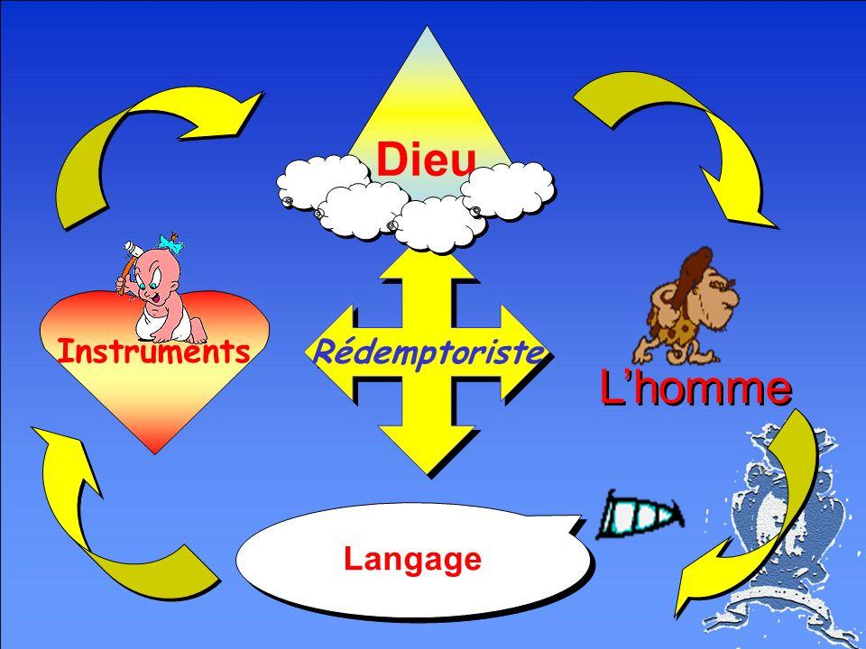 Instruments Rédemptoriste Dieu Lhomme Langage