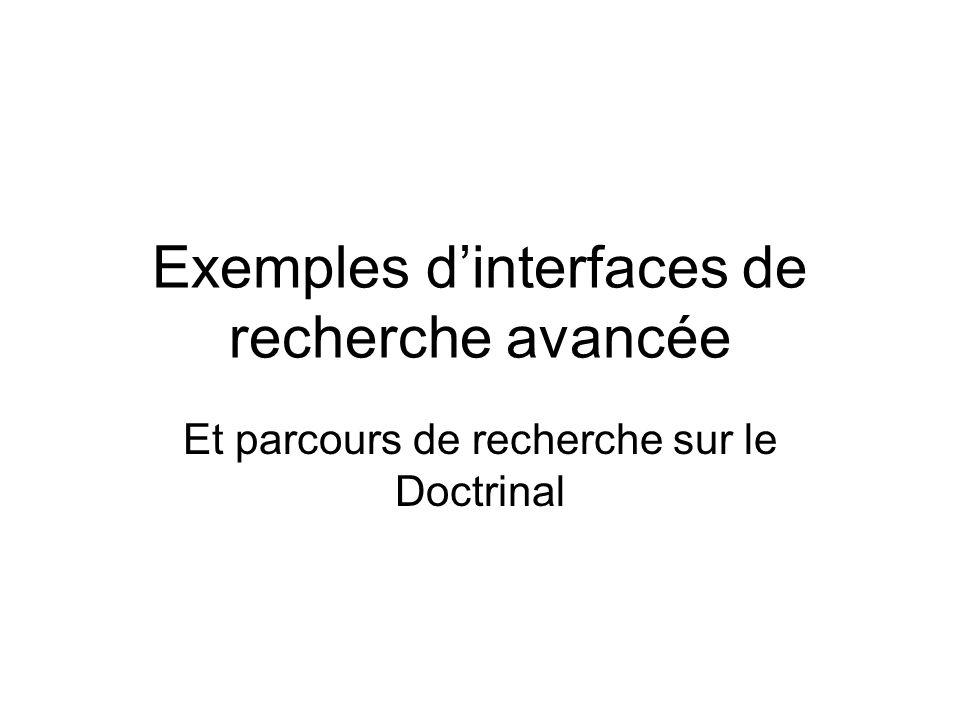 L. Herzhaft - URFIST de Lyon SUDOC recherche avancée