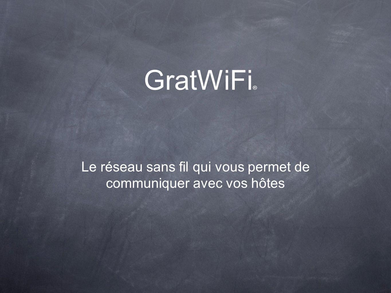 GratWiFi ® Déjà plus de 450 installations opérationnelles.