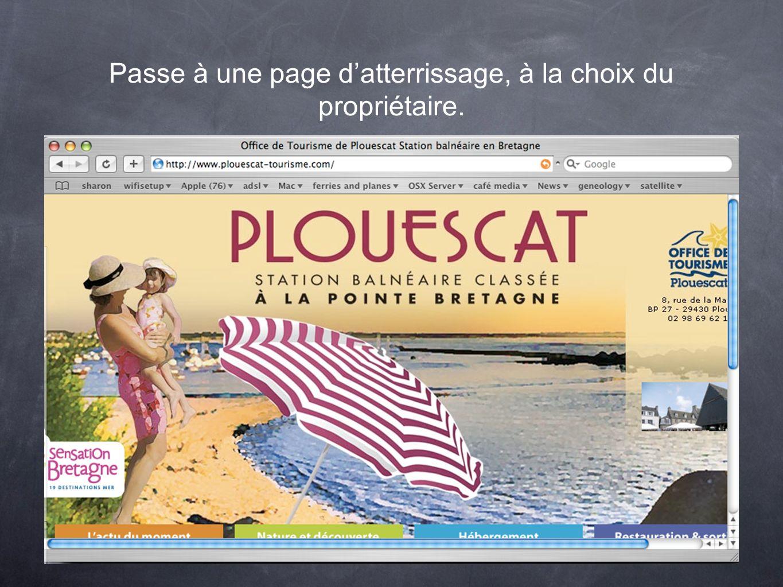 Une page publicitaire ou bien une enquête en ligne. http://www.enquetemaken.be