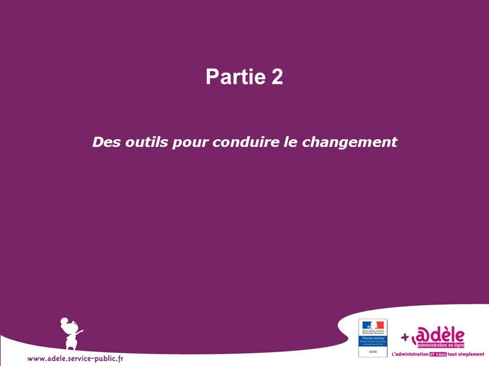 7 Partie 2 Des outils pour conduire le changement