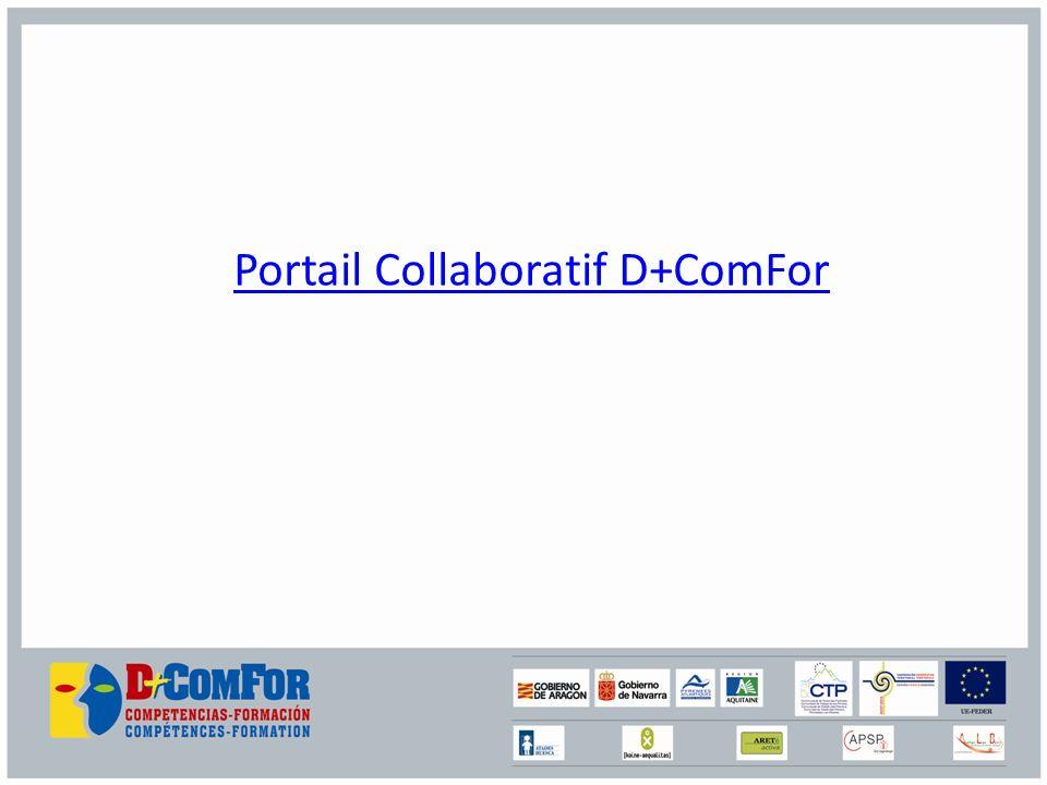 Portail Collaboratif D+ComFor