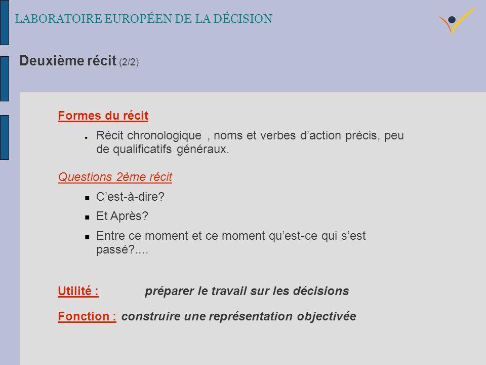 Formes du récit Récit chronologique, noms et verbes daction précis, peu de qualificatifs généraux.