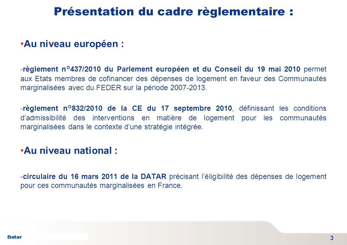 TITRE PRESENTATION DATE 06/01/2012 - SGAE Présentation du cadre règlementaire : Au niveau européen : -règlement n°437/2010 du Parlement européen et du