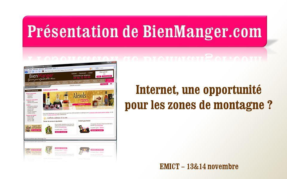 Internet, une opportunité pour les zones de montagne ? EMICT – 13&14 novembre