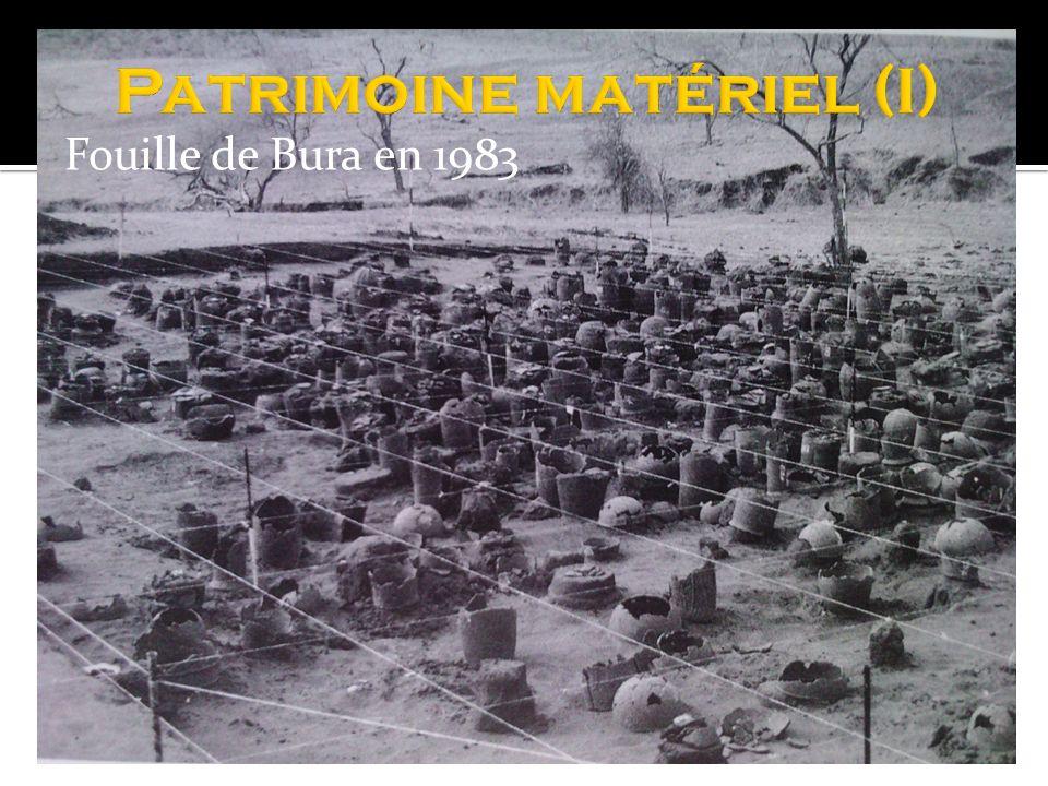 Fouille de Bura en 1983