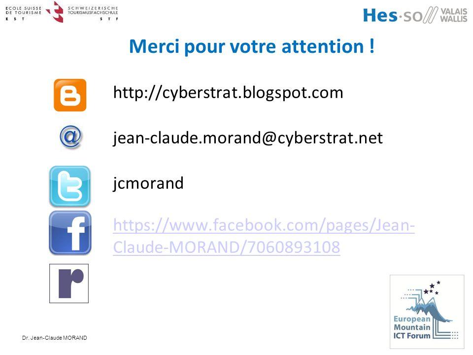 Merci pour votre attention ! http://cyberstrat.blogspot.com jean-claude.morand@cyberstrat.net jcmorand https://www.facebook.com/pages/Jean- Claude-MOR