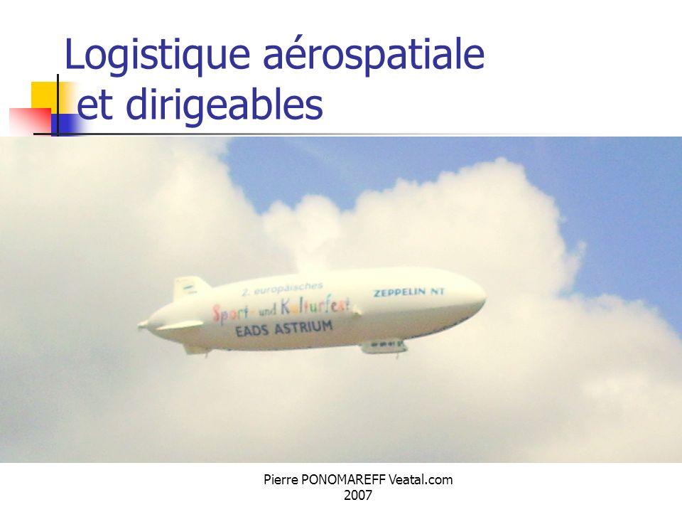 Pierre PONOMAREFF Veatal.com 2007 Logistique aérospatiale et dirigeables