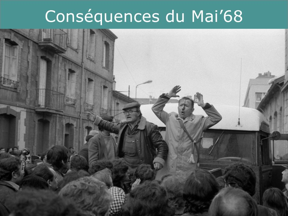 12 Running Title Conséquences du Mai68