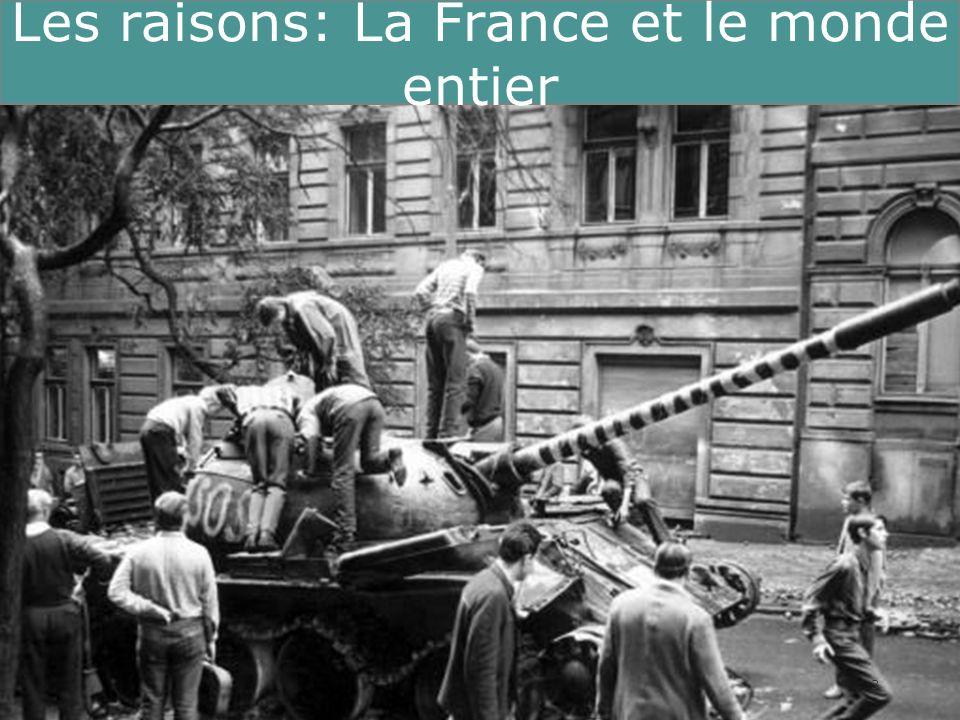Running Title 3 Les raisons: La France et le monde entier