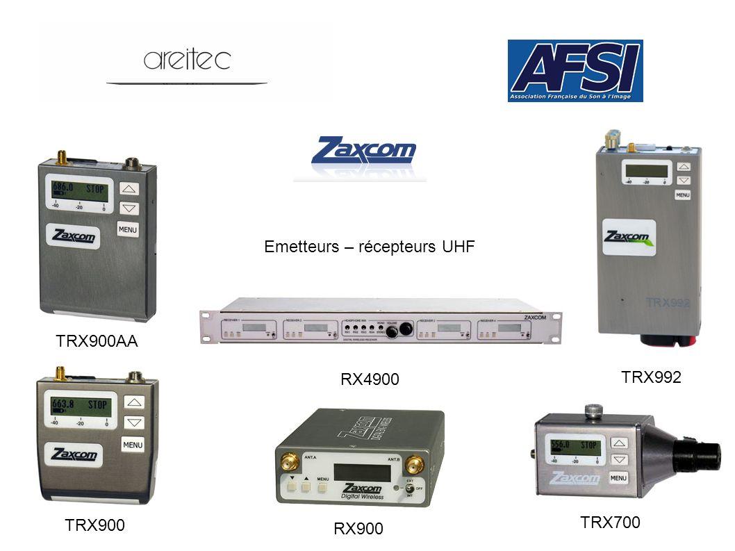 Emetteurs – récepteurs UHF RX4900 TRX900AA TRX900 RX900 TRX700 TRX992