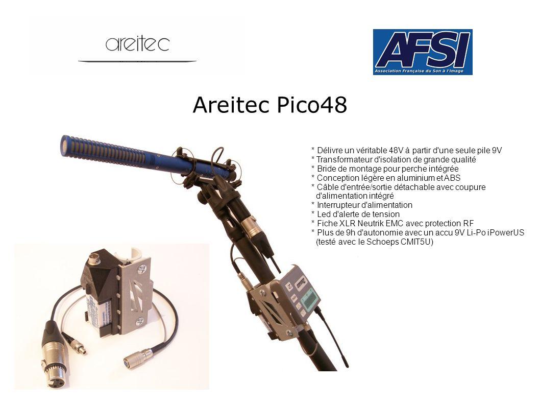 Areitec Pico48 * Délivre un véritable 48V à partir d'une seule pile 9V * Transformateur d'isolation de grande qualité * Bride de montage pour perche i