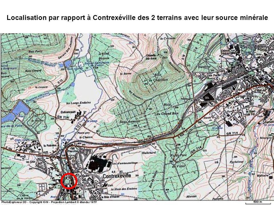 À peine arrivé à Contrexéville, Louis Bouloumié prend contact avec les notaires : Maître Bonnet lui apprend que le terrain et la source Gérémoy à Vitt