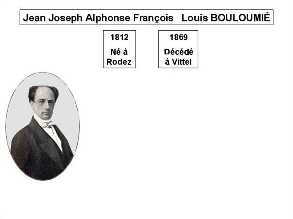 Le notaire écrit : « doù jaillit une source deau minérale située… » Louis Bouloumié lui fait retirer cette mention