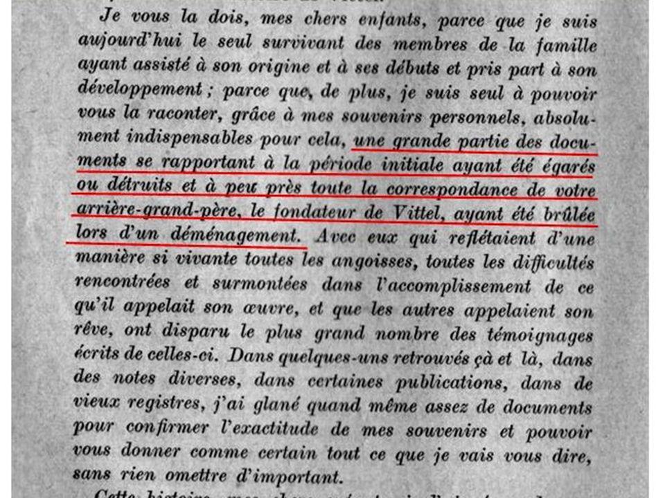 Mes recherches ont permis de prouver que Louis Bouloumié est venu pour la première fois en cure le 3 août 1850 comme latteste cette déclaration Il assiste à la vente du domaine thermal de Contrexéville qui change de propriétaire