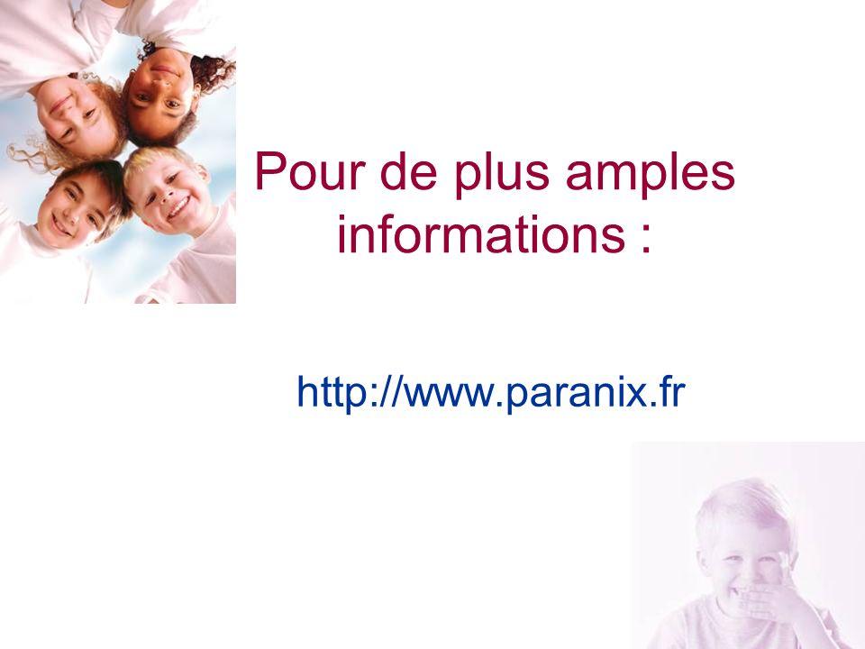 23 Pour de plus amples informations : http://www.paranix.fr
