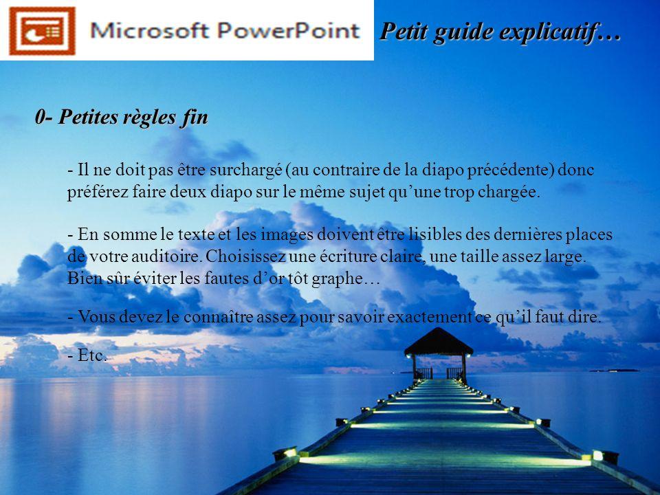 0- Exemple de diapo délève Petit guide explicatif…