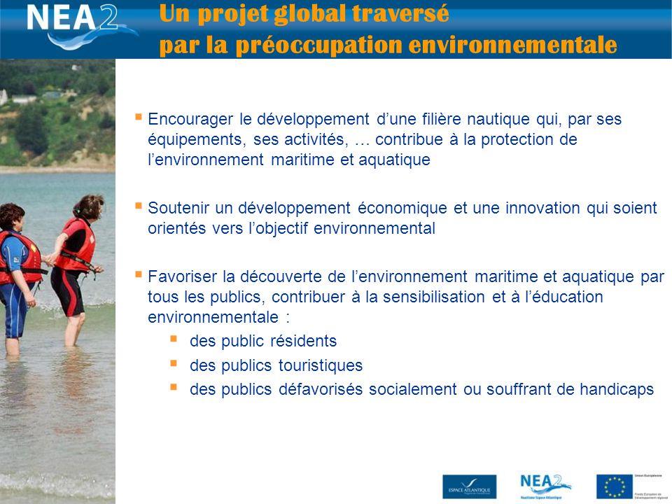 Encourager le développement dune filière nautique qui, par ses équipements, ses activités, … contribue à la protection de lenvironnement maritime et a