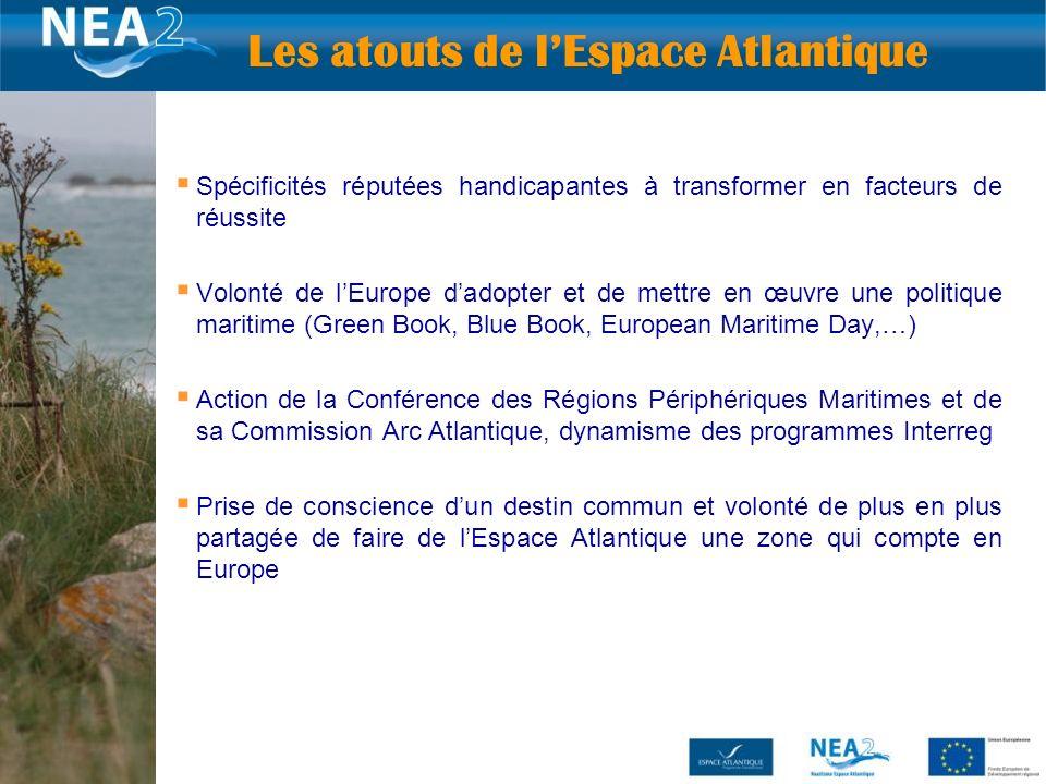 6 Spécificités réputées handicapantes à transformer en facteurs de réussite Volonté de lEurope dadopter et de mettre en œuvre une politique maritime (