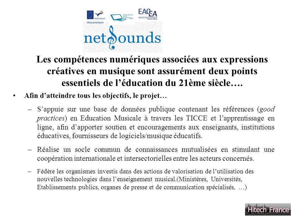 Les compétences numériques associées aux expressions créatives en musique sont assurément deux points essentiels de léducation du 21ème siècle…. Afin
