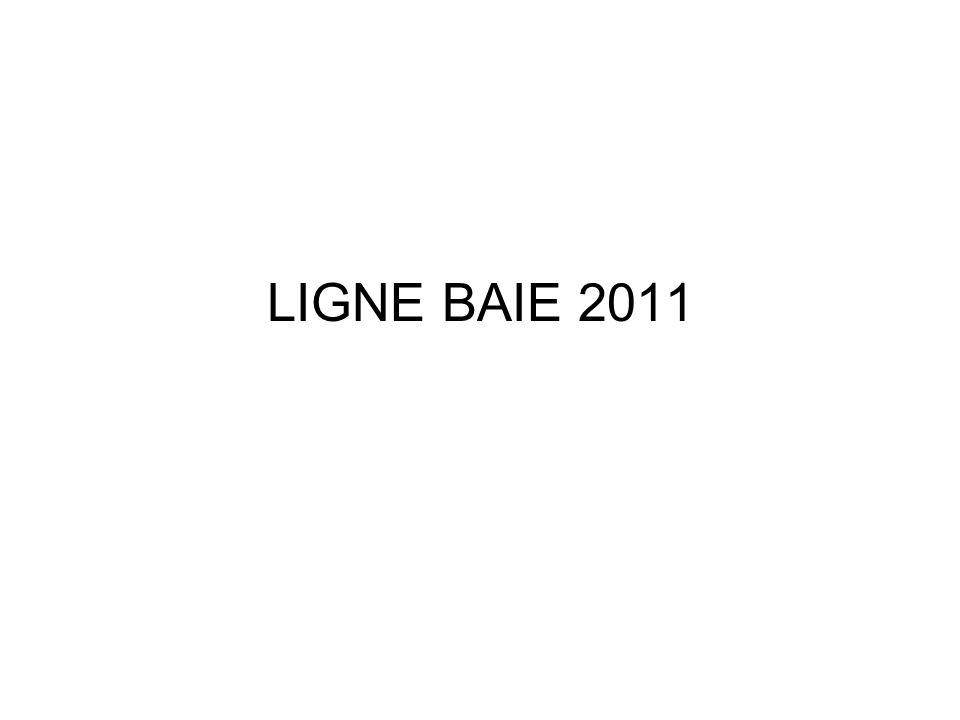 LIGNE BAIE 2011
