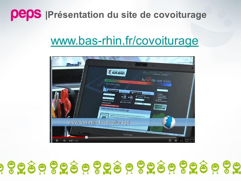|Présentation du site de covoiturage www.bas-rhin.fr/covoiturage