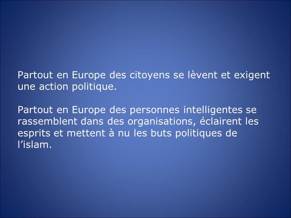 Partout en Europe des citoyens se lèvent et exigent une action politique. Partout en Europe des personnes intelligentes se rassemblent dans des organi
