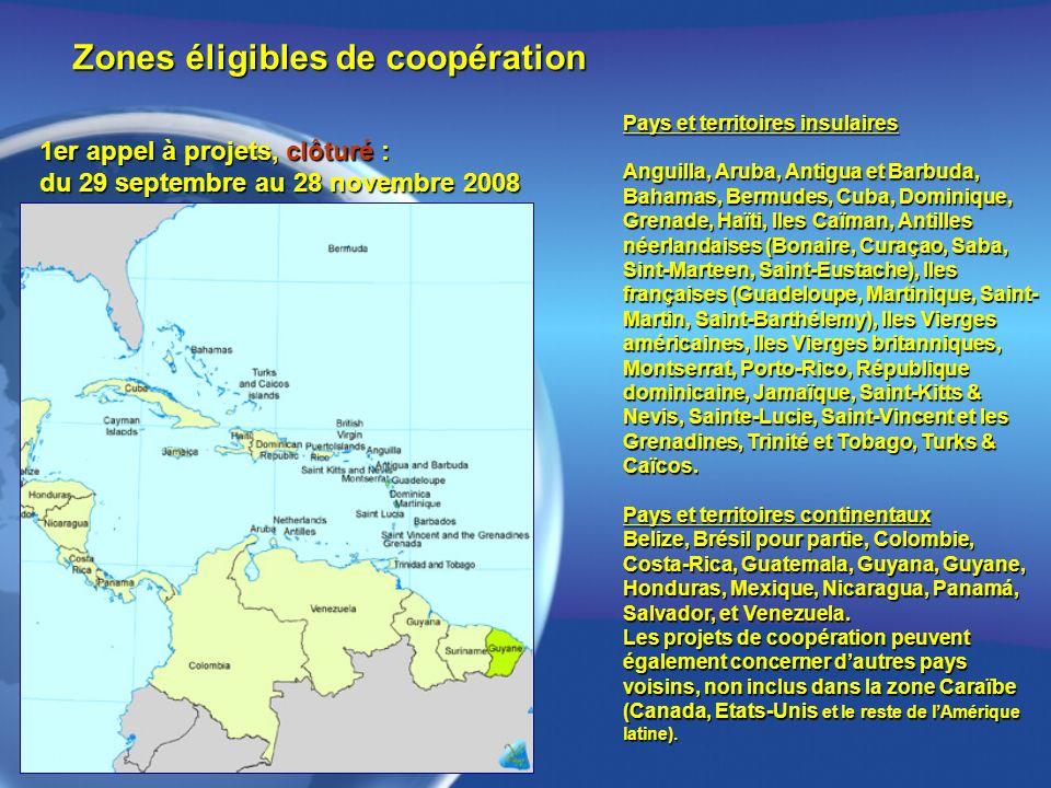 Pays et territoires insulaires Anguilla, Aruba, Antigua et Barbuda, Bahamas, Bermudes, Cuba, Dominique, Grenade, Haïti, Iles Caïman, Antilles néerland