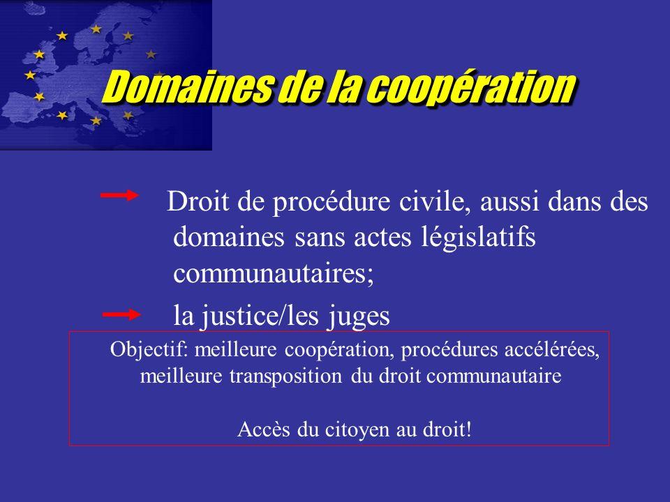 Le Réseau Judiciaire européen Décision du Conseil du 28 mai 2001 Objectifs: Accès du citoyen au droit par une meilleure coopération des professions ju