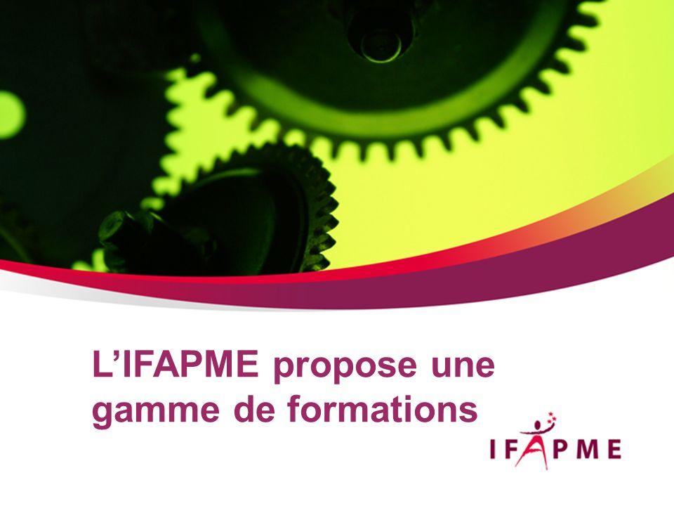 Page &p3 Les formations de lIFAPME reposent sur le principe de lalternance pédagogique.