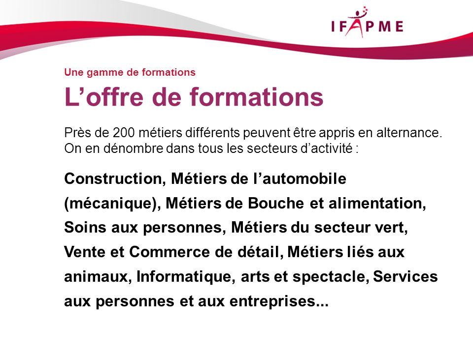 Page &p16 Le réseau IFAPME en action Les centres de formation LIFAPME a constitué un réseau de 8 centres de formation.