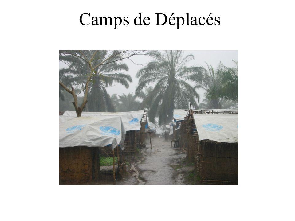 Camps de Déplacés