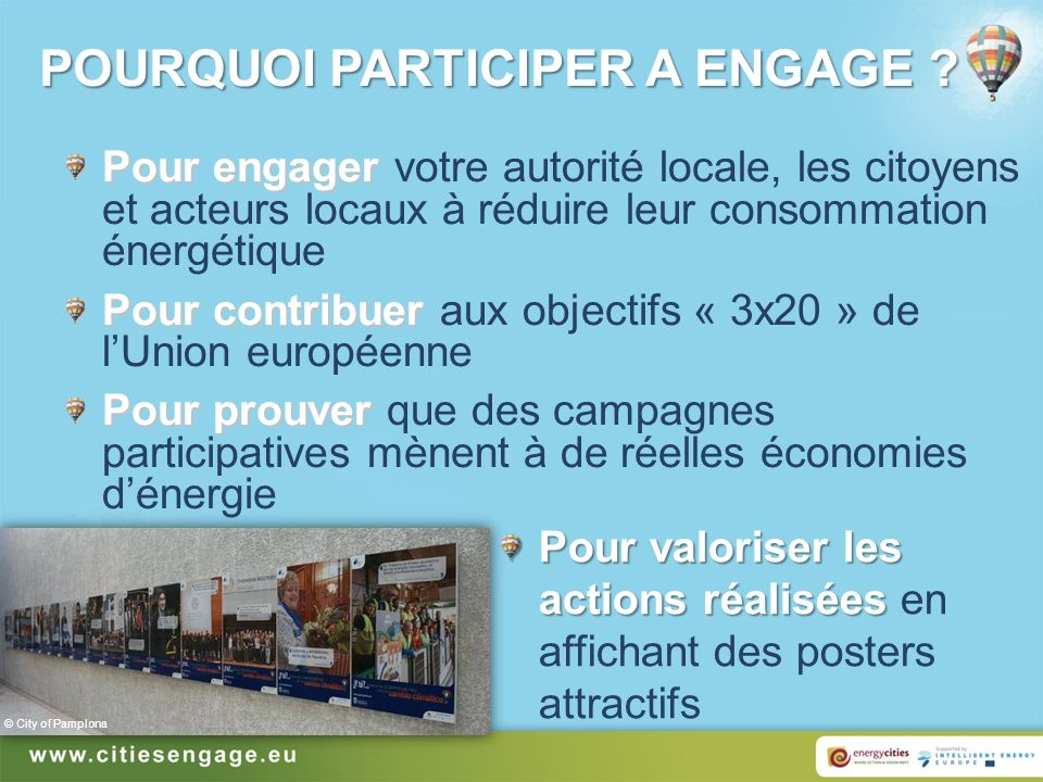 POURQUOI PARTICIPER A ENGAGE .