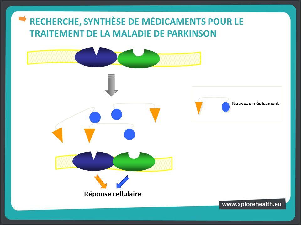 Réponse cellulaire Nouveau médicament RECHERCHE, SYNTHÈSE DE MÉDICAMENTS POUR LE TRAITEMENT DE LA MALADIE DE PARKINSON