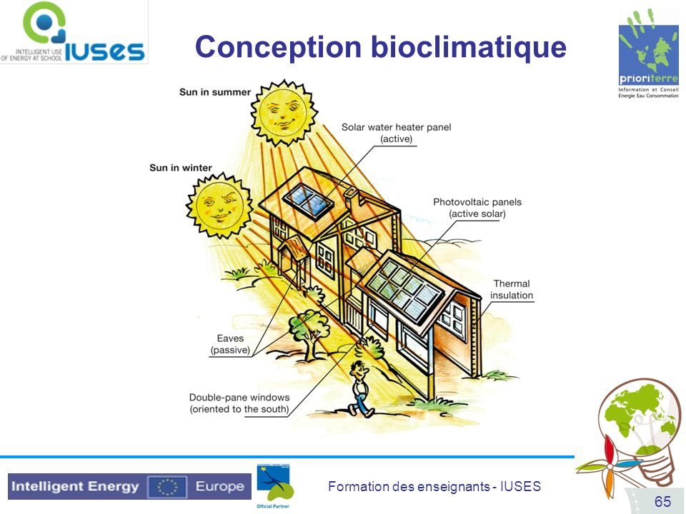 Formation des enseignants - IUSES 65 Conception bioclimatique