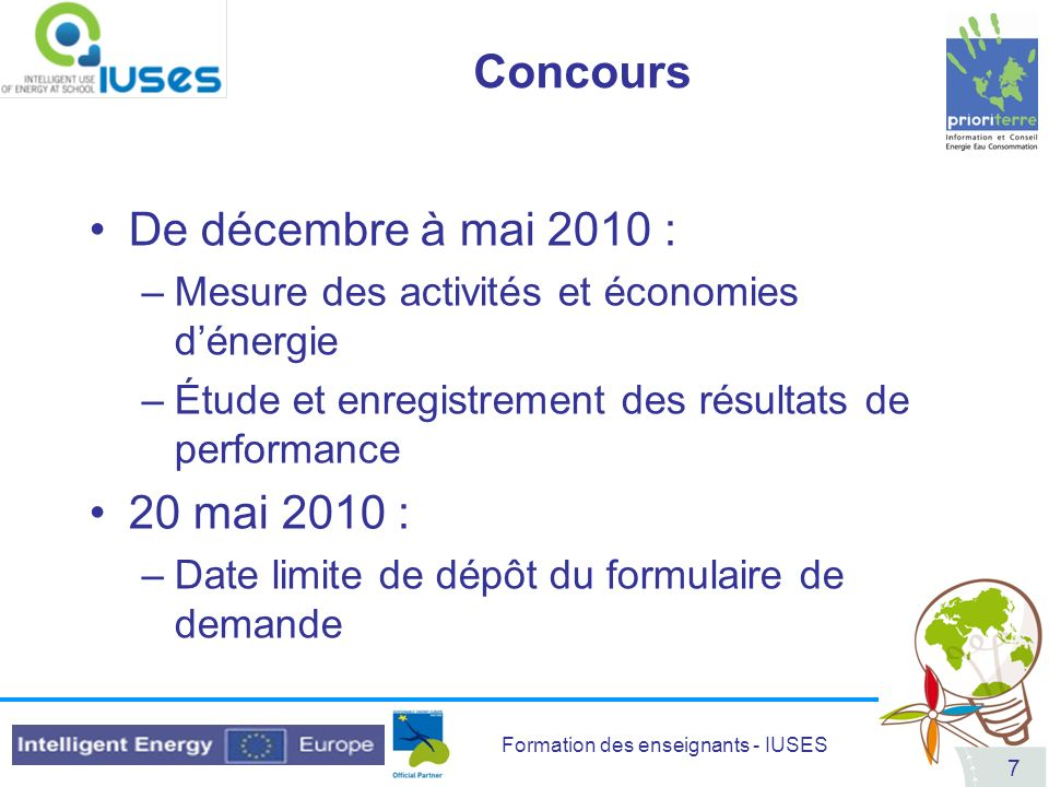 Formation des enseignants - IUSES 88 DVD