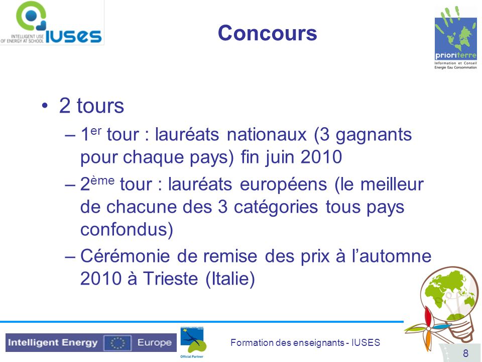 Formation des enseignants - IUSES 89 DVD