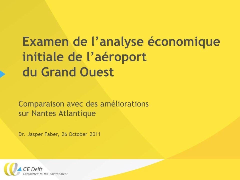 Comparaison avec des améliorations sur Nantes Atlantique Dr.
