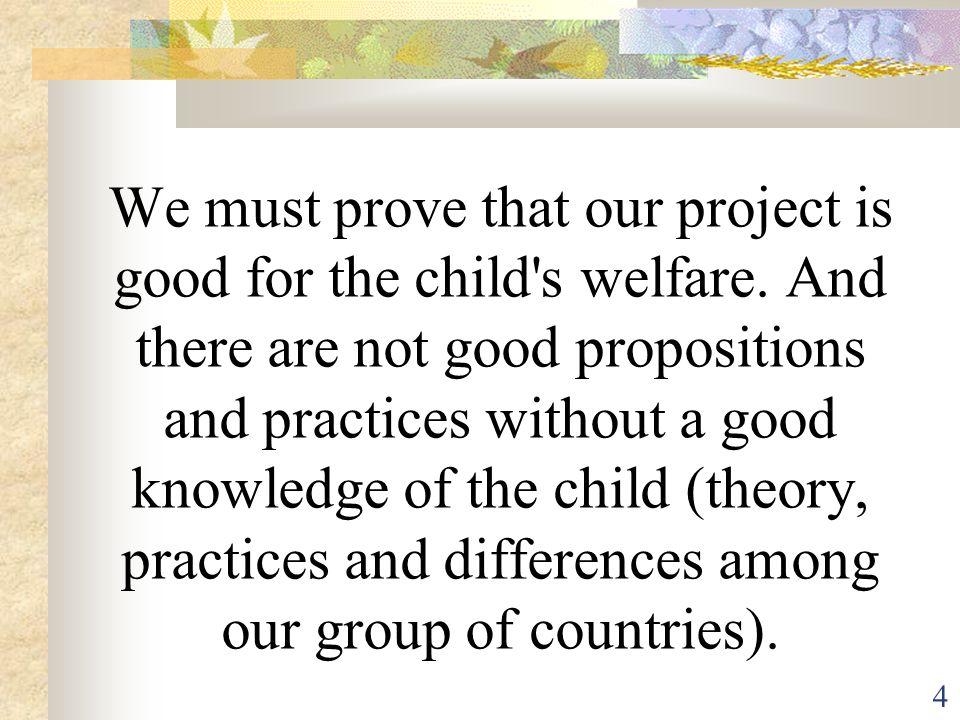 15 SOCIAL DEVELOPMENT = Result of a good separation (not a target) C est l intégration dans la société, l appropriation des pratiques sociales, culturelles.