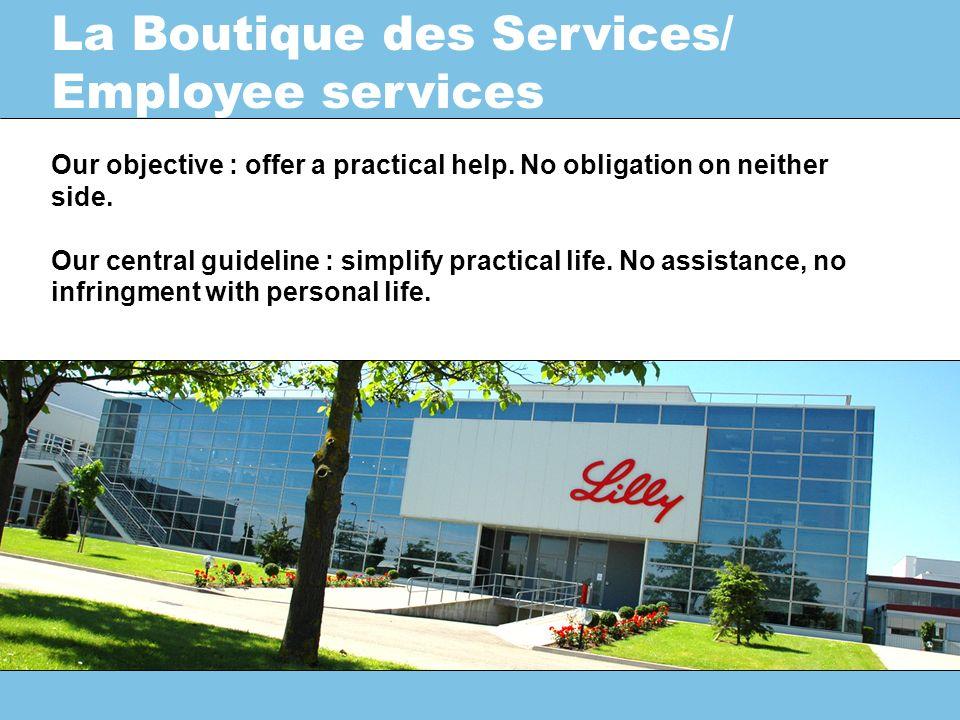Les services « administratifs » Les services « pratiques » Le Cyber Espace 3 grandes familles de services